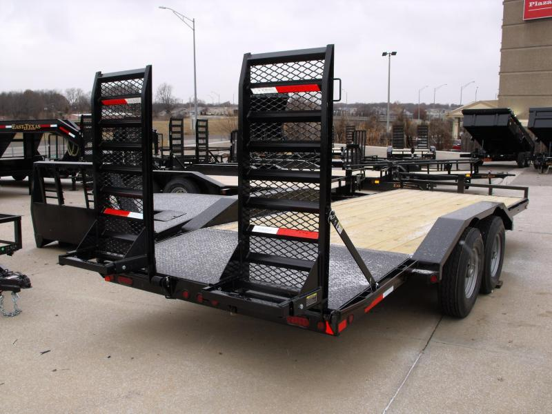 Equipment Trailer - Car Hauler 83 X 20  Metal Dove 14000 GVW