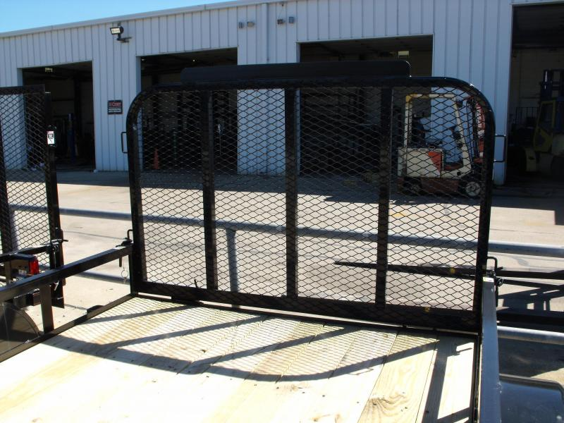 Premium Utility 77 X 10 Spring Assist Tube Gate LED's