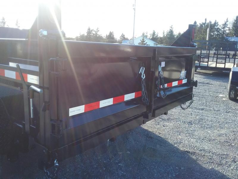 2019 Sure-Trac 82 IN X 12 LProfile 14K Dual Ram Dump