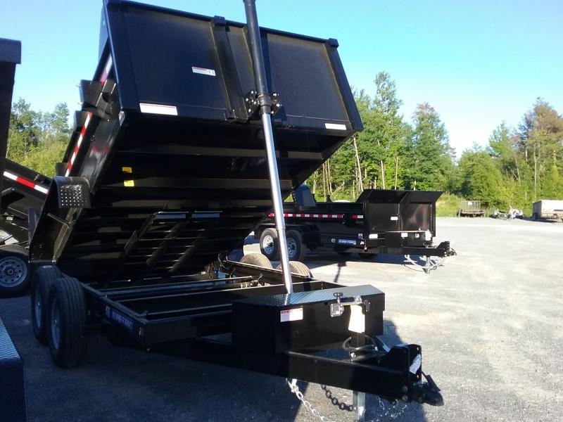 2018 Sure-Trac 82 IN X 12 LProfile 14K Telescopic Dump