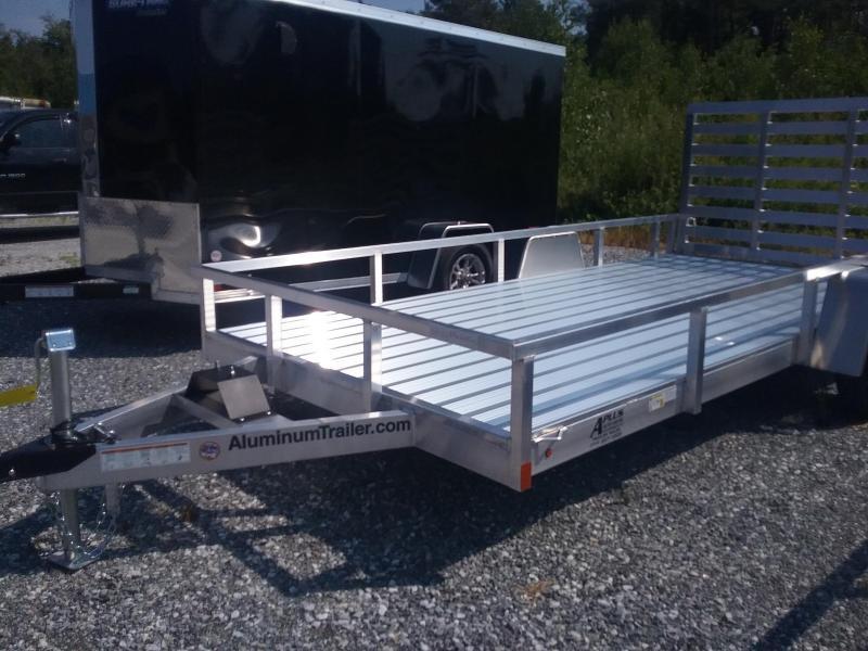 2019 Aluminum Trailer Company 7X14 Utility Trailer