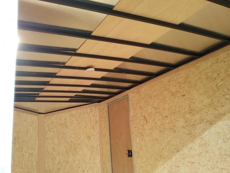 2018 Cargo Express Xlw Se 7' Wide Cargo Flat Top Cargo / Enclosed Trailer