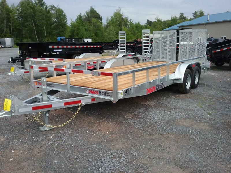 2019 N and N Trailers ILT82216G7K Utility Trailer