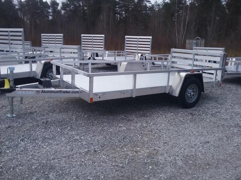 2018 Aluminum Trailer Company 6X12 Bifold Utility Trailer