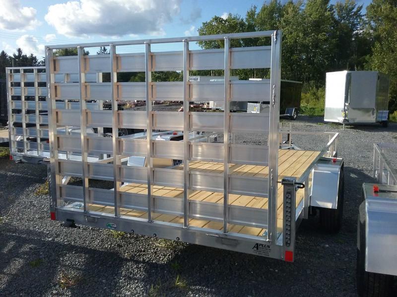 2020 Rance Aluminum Trailers 6.5x14 ROUGH RIDER Utility Trailer