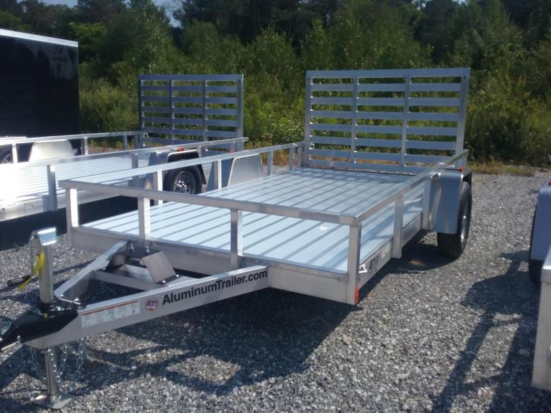2019  Aluminum Trailer Company 7X12 Fold Flat Gate Utility Trailer