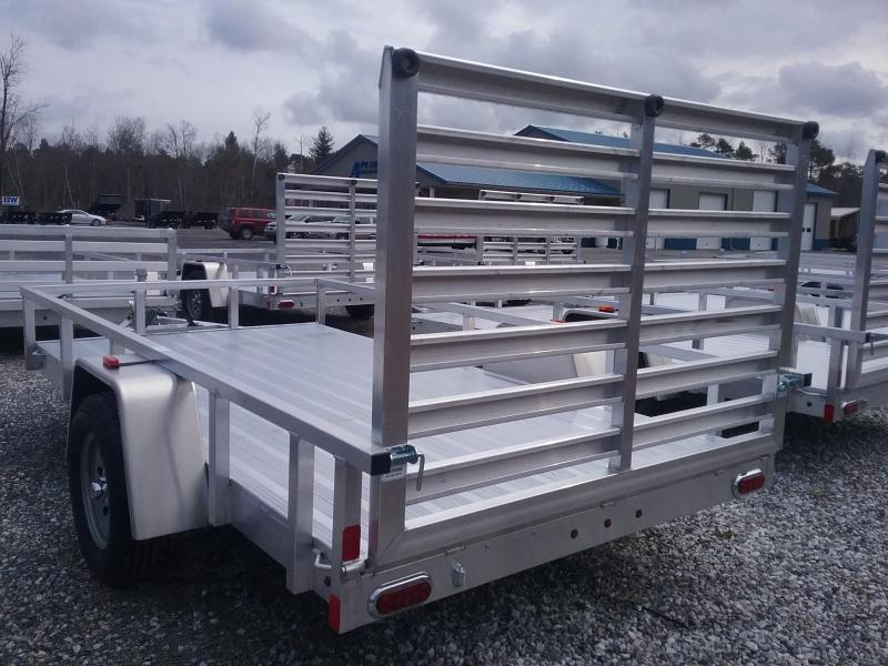 2018 Aluminum Trailer Company 6X12 Fold Flat Gate Utility Trailer