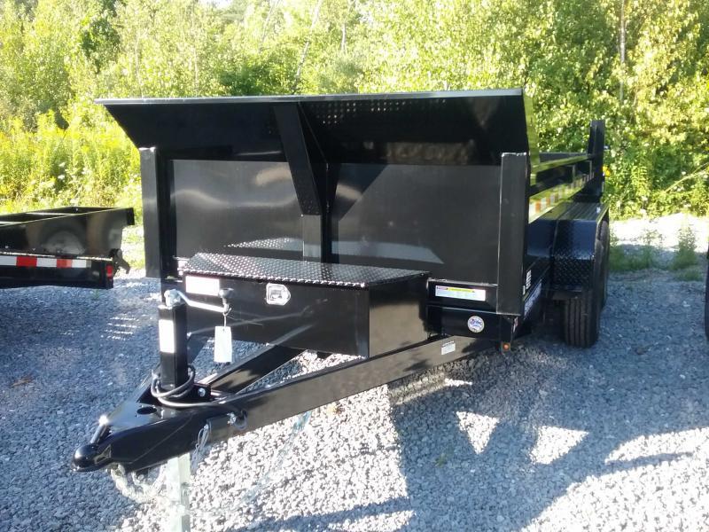 2020 Sure-Trac 72 IN x 12 LProfile 10K Single Ram Dump
