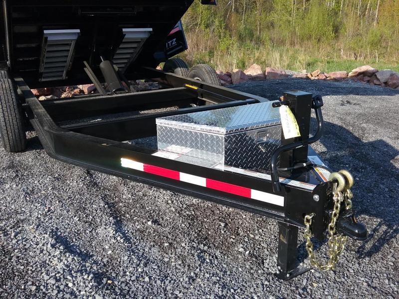 2018 Moritz International Scissor lift Dump Trailer