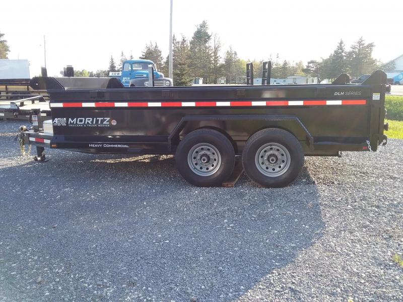 2018 Moritz International Scissor lift Dump Trailer
