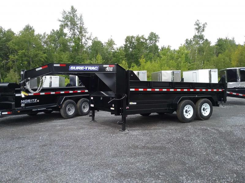 2019 Sure-Trac 82 IN X 14 LP 14K Goose Scissor Dump