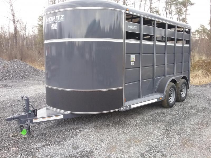 2018 Moritz International Moritz Livestock Trailer