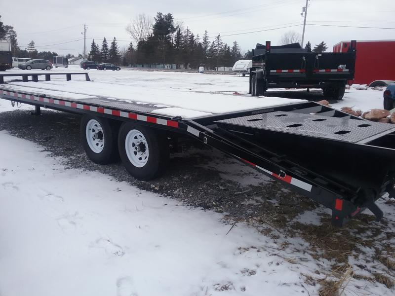 2017 Sure-Trac Low Pro Deckover 8.5X20+5  Equipment Trailer