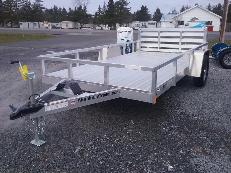 2018 Aluminum Trailer Company 6X12 Bifold Gate Utility Trailer