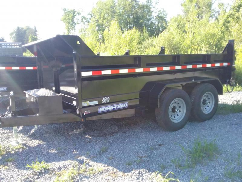 2018 Sure-Trac 82 IN X 12 LProfile 14K Dual Ram Dump