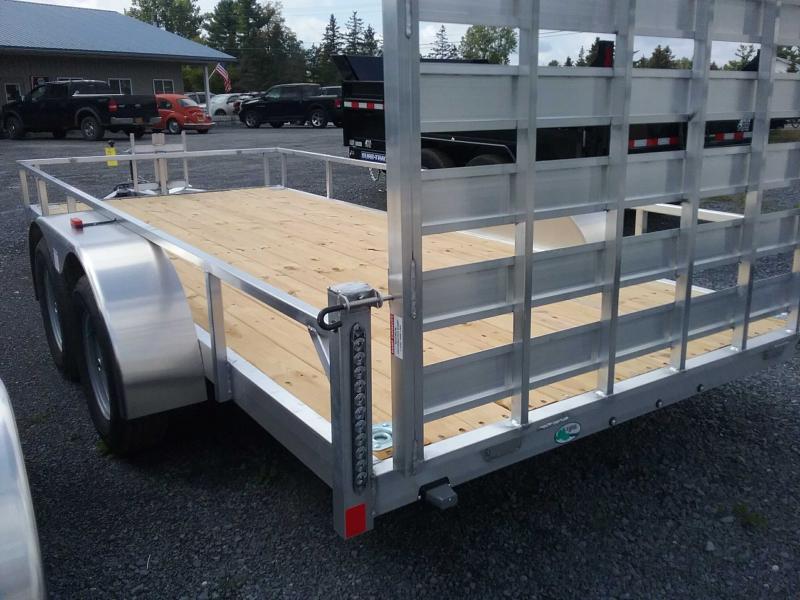 2020 Rance Aluminum Trailers 6.5'X16' TA2 Utility Trailer