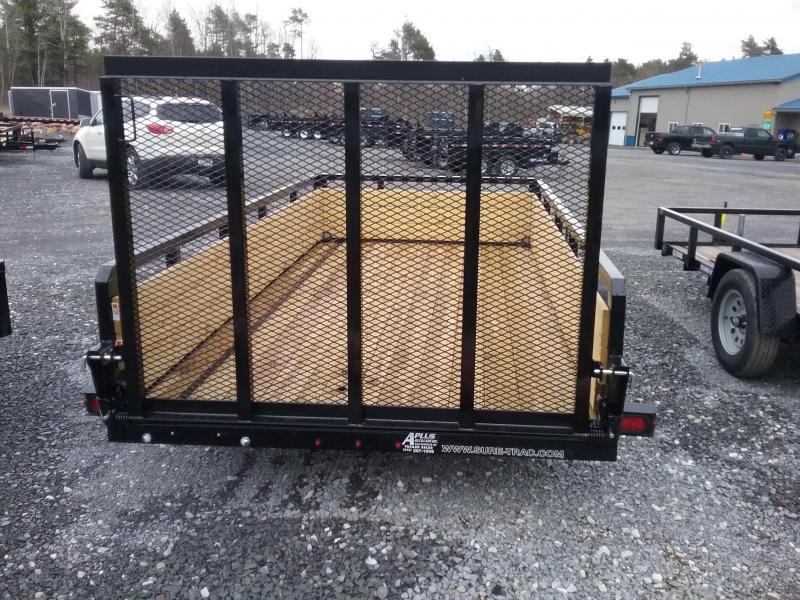 2018 Sure-Trac 6 X 12 Tube Top Three Board 3.5K Brake