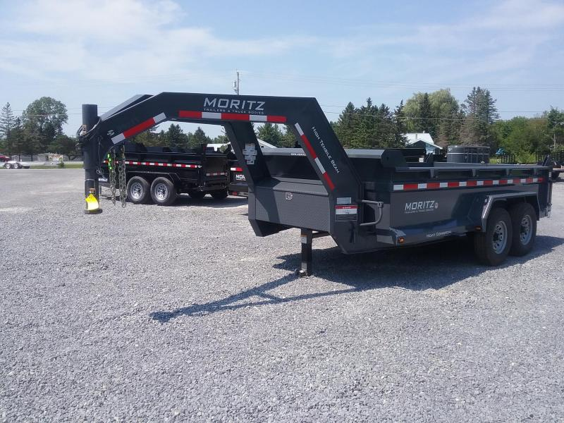 2018 Moritz International Gooseneck Scissor Dump Trailer
