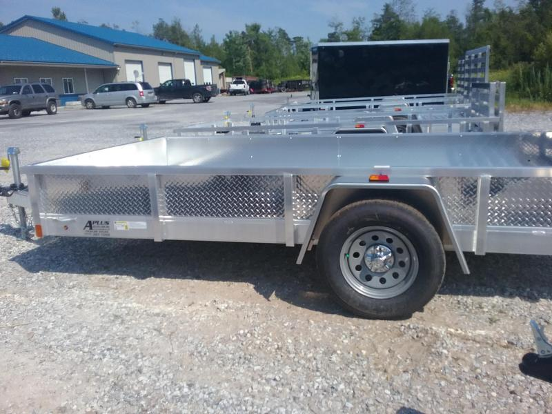 2019 Aluminum Trailer Company 6X12 Fold Flat Gate Utility Trailer
