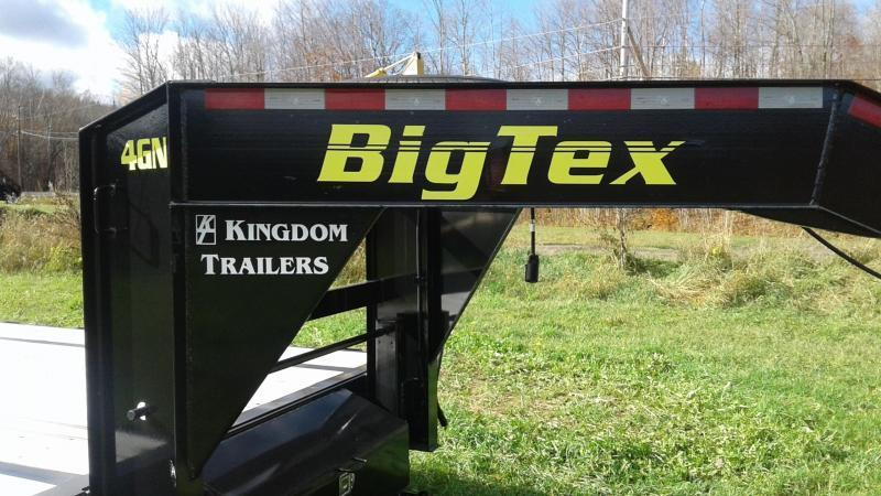 2019 Big Tex Trailers 14GN 20+5 MEGA RAMPS  Gooseneck Equipment Trailer
