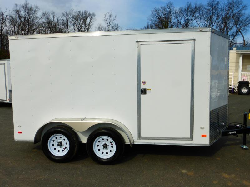 Covered Wagon Trailers 7X12TA Enclosed Cargo Trailer