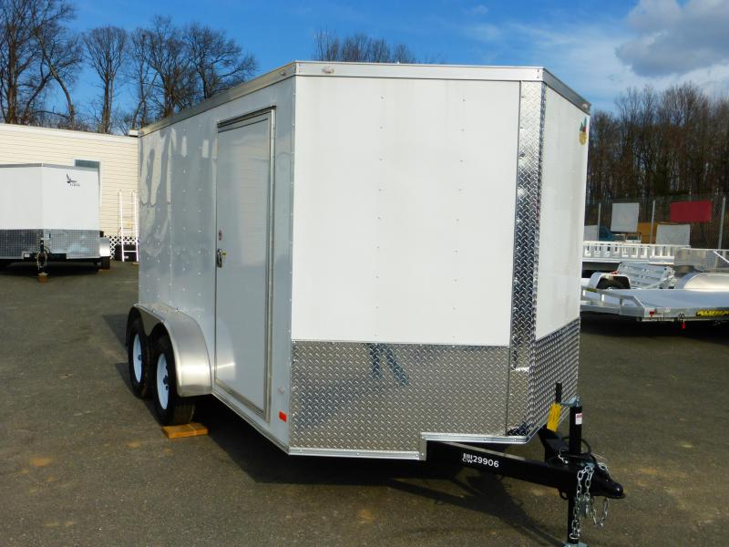 Covered Wagon  7X12TA Enclosed Cargo Trailer