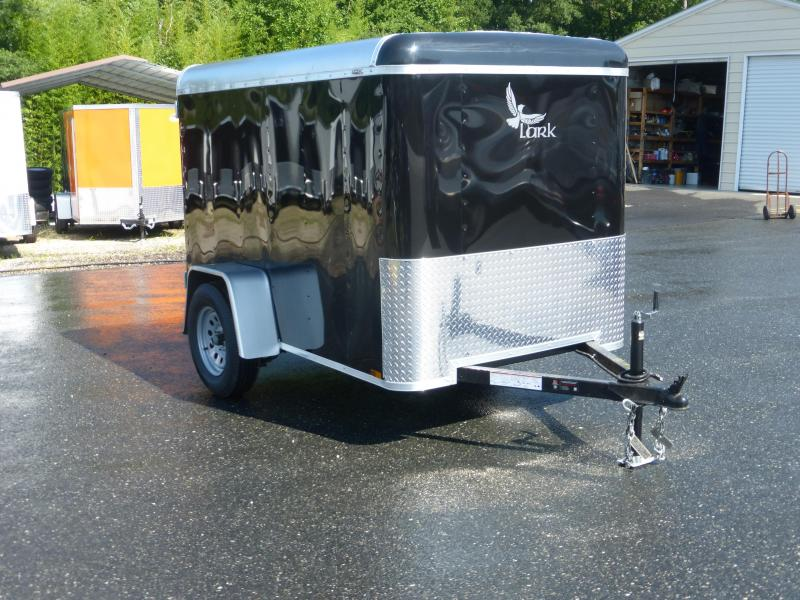 Lark VT5X8SA Black Enclosed Cargo Trailer