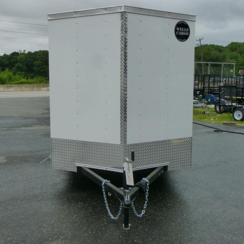 Wells Cargo VG Series 6' x 12' Enclosed Trailer w/Ramp