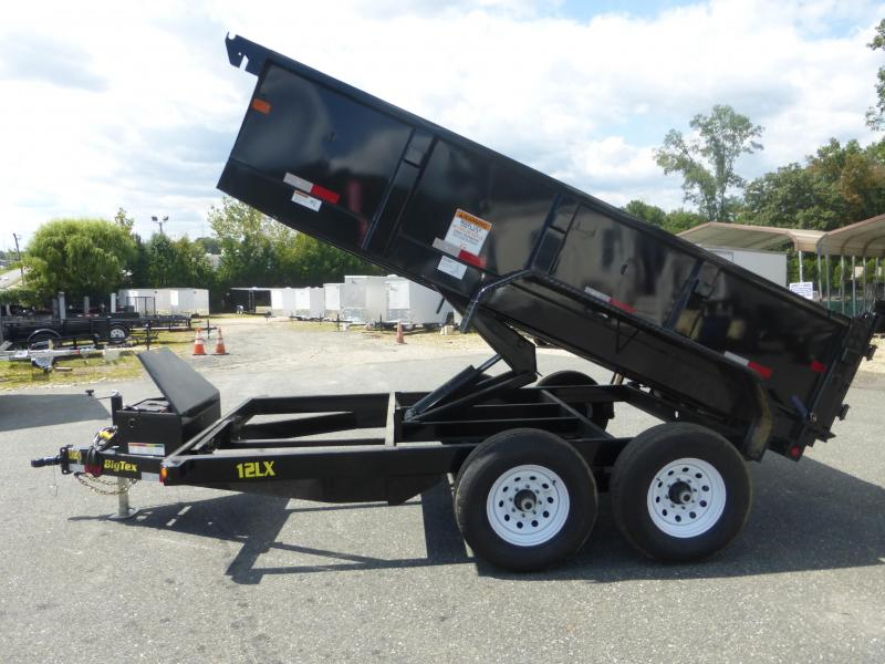 "Big Tex 7' x 12' x 24"" Dump Trailer"