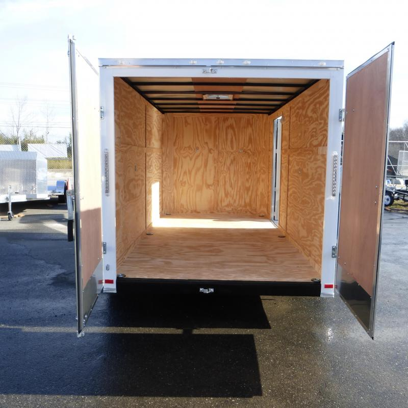 Covered Wagon 7' x 14' Enclosed Cargo Trailer w/Cargo Doors