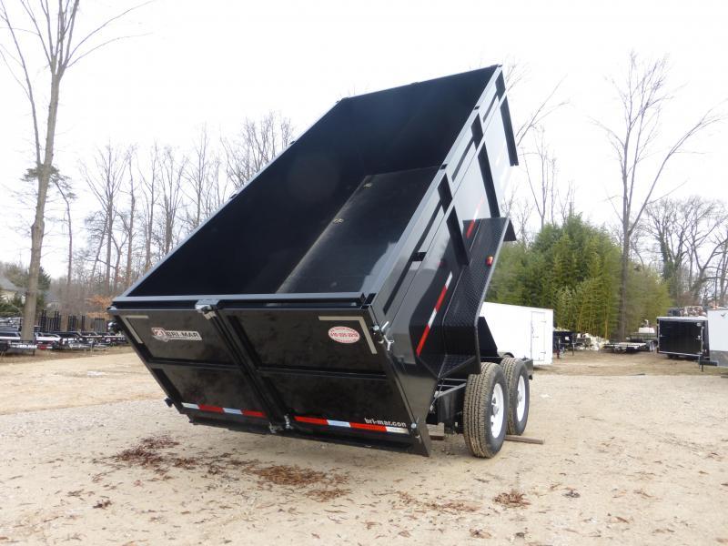 "Bri-Mar 7' x 14' x 44"" Dump Trailer-14K"