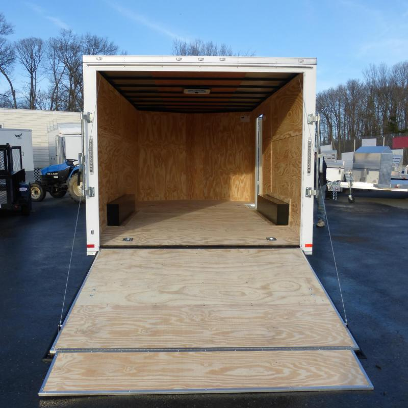 Covered Wagon Trailers 8.5X16TA Enclosed Cargo Trailer