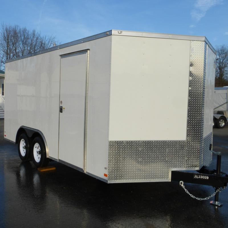 Covered Wagon 8.5' x 16' Enclosed Cargo Trailer