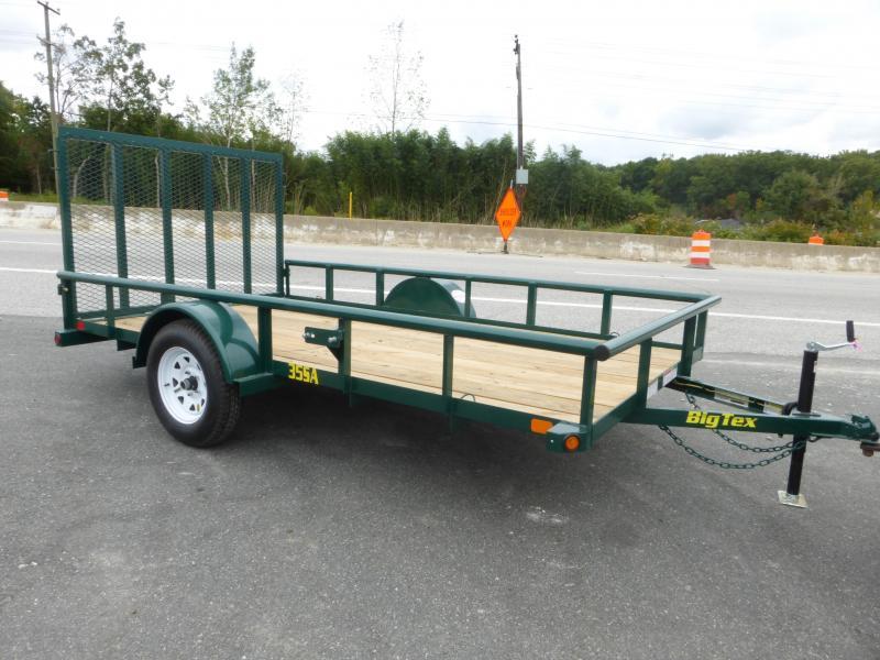 Big Tex 6.5' x 12' Green Landscape Utility Trailer