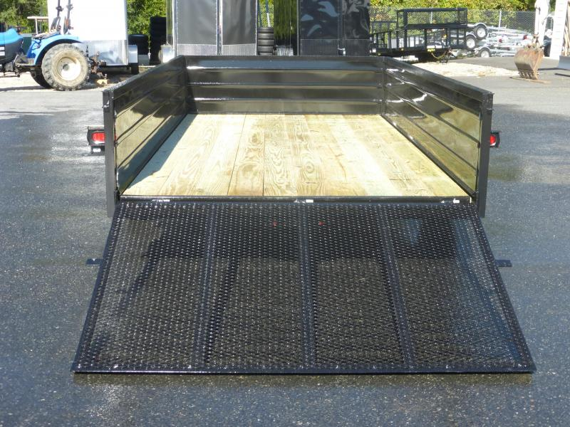 "MCT 6' 4"" x 12' Landscape Trailer with 24"" Solid Sides"