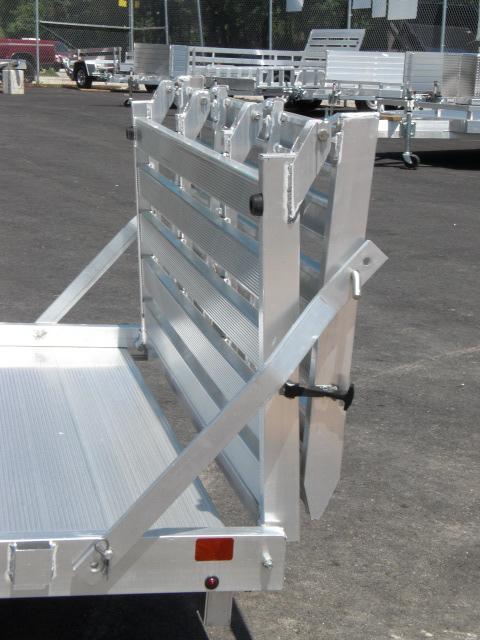 "Aluma 68"" x 10' 3K Utility Trailer w/ Bi-Fold Tailgate"