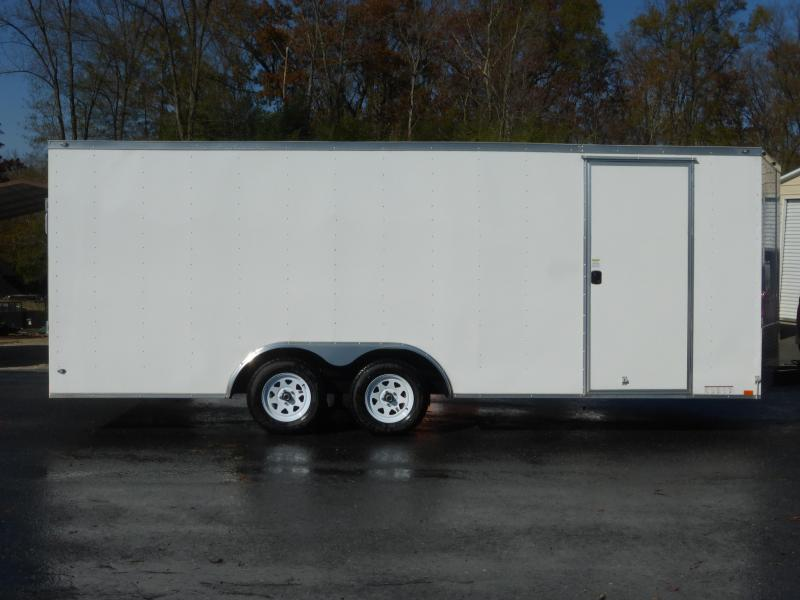 Diamond Cargo 8.5' x 20' V-Nose Enclosed Car Hauler Trailer