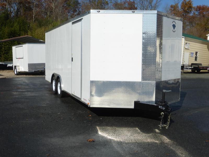 Diamond Cargo 8.5' x 20' V-Nose Enclosed Car Hauler Trailer