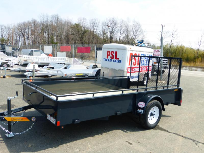 "Belmont 6' 5"" x 12' Utility Trailer w/ 18"" Solid Sides"