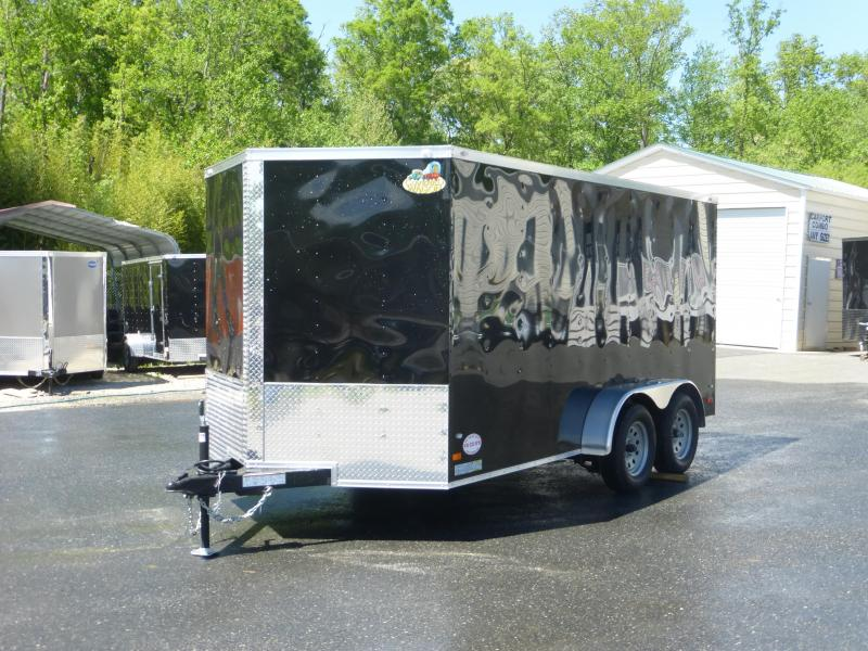 Covered Wagon Trailers 7X14TA Enclosed Cargo Trailer