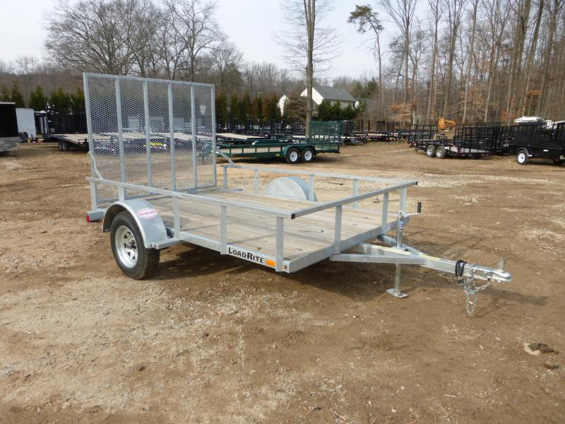 Load Rite 5' x 10' Galvanized Utility Trailer