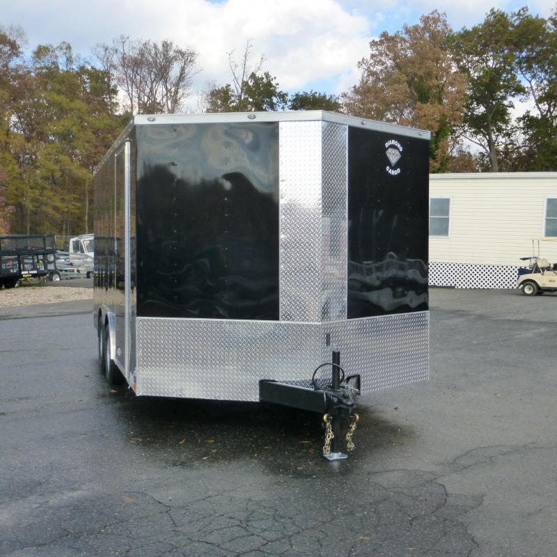 Diamond Cargo 8.5X16TA Enclosed Cargo Trailer