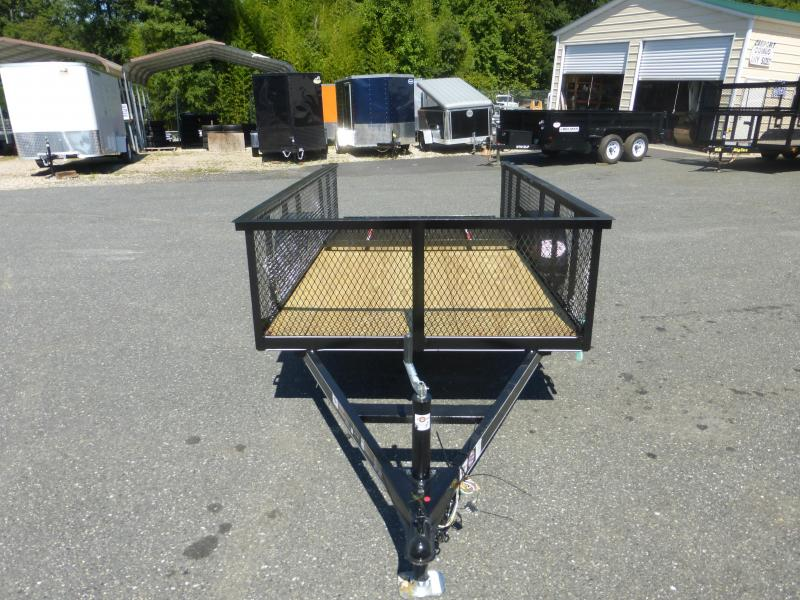 "Carry-On 5' x 10' Landscape Utility Trailer w/ 24"" mesh sides"