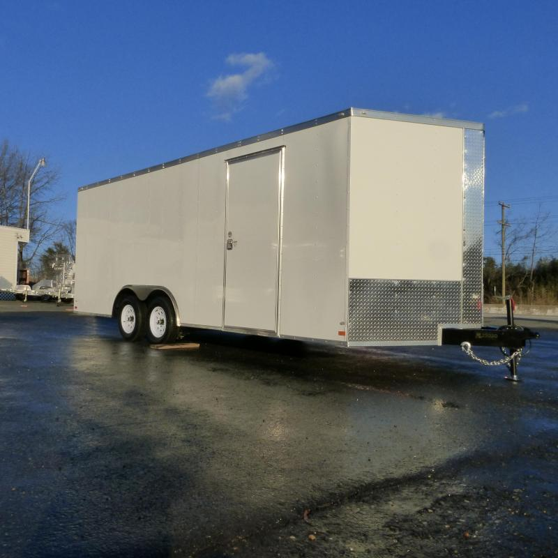 Covered Wagon Trailers CW8.5X20TA2 Enclosed Cargo Trailer