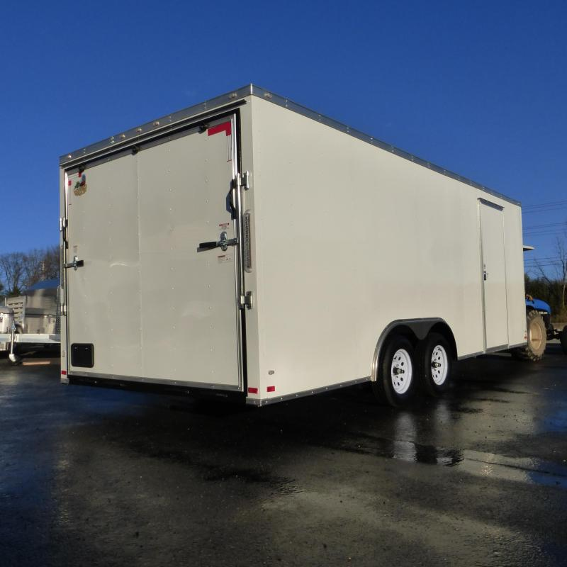 2017 Covered Wagon Trailers CW8.5X20TA2 Enclosed Cargo