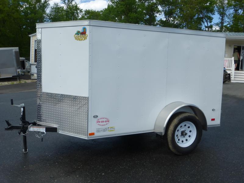 Covered Wagon Trailers 5X8SA Enclosed Cargo Trailer