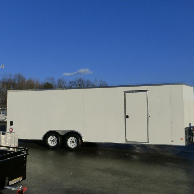 Wells Cargo Fast Trac  8.5' x 24' Enclosed Car Trailer w/ Dexter Axles 10K