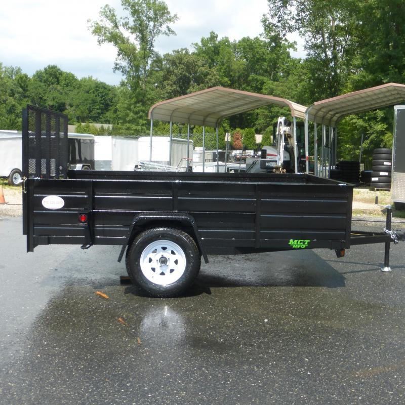 "MCT 64 x 10' w/ 24"" Solid Sides Utility Trailer"