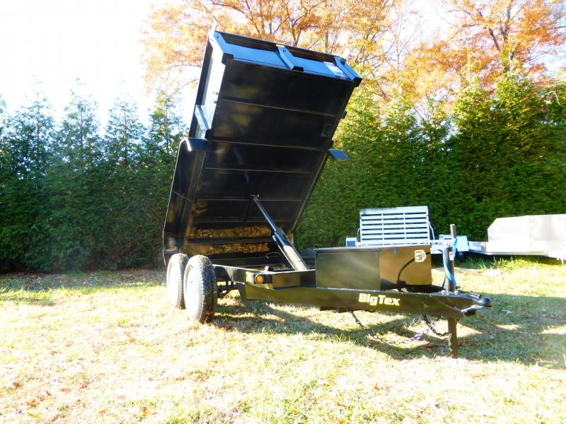 Big Tex Trailers 5' x 10' x 20' Dump Trailer
