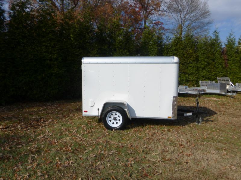 Lark 5' x 8' Cargo / Enclosed Trailer with Single Swing Door